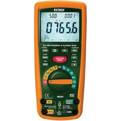 13-Function Wireless True RMS Multi Meter/Insulation Tester with NIST