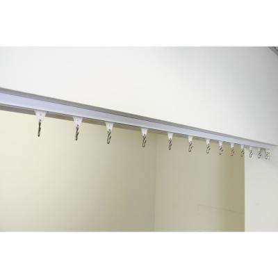 6 ft. - 12 ft. Ceiling Room Divider Track Kit