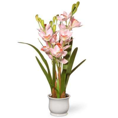 28 in. Light Pink Orchid Flowers