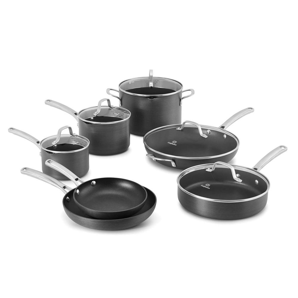 Calphalon Clic 12 Piece Non Stick Cookware Set