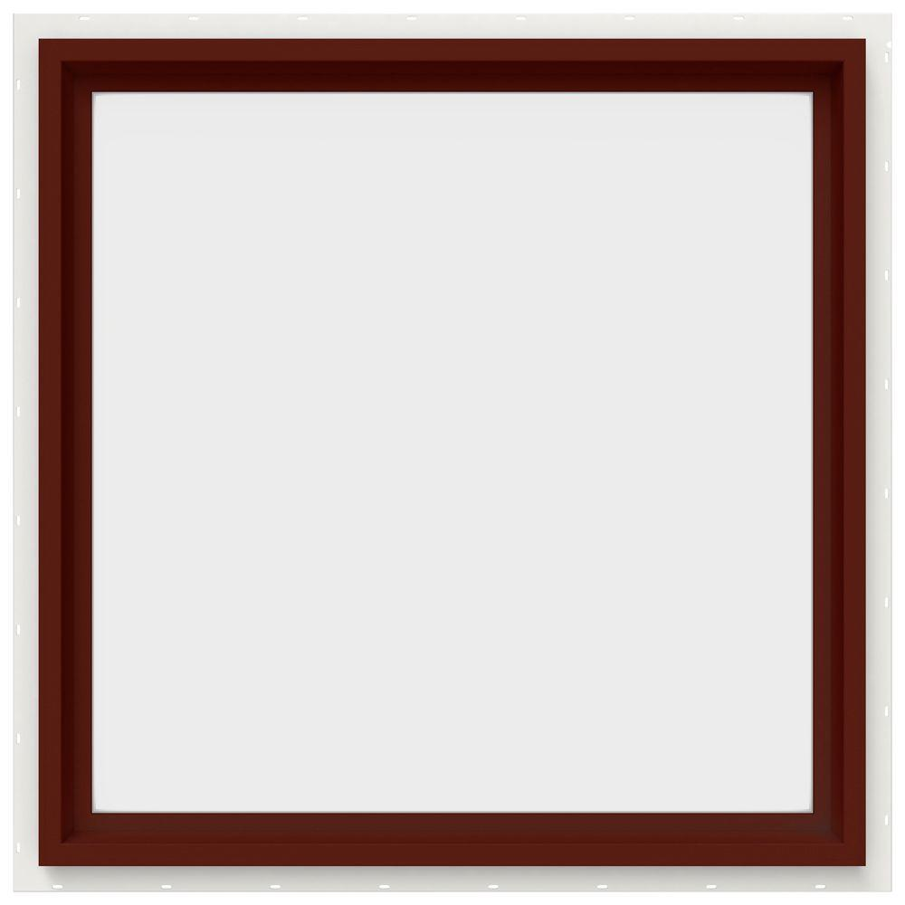 29.5 in. x 29.5 in. V-4500 Series Fixed Picture Vinyl Window