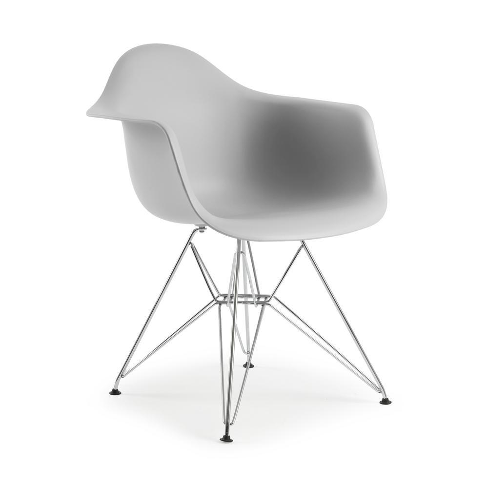 Padget Harbor Grey Arm Chair