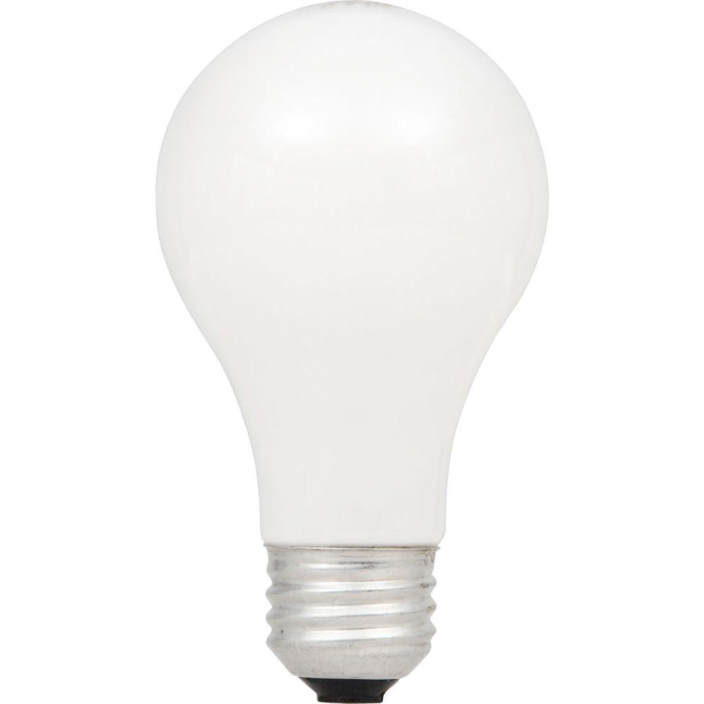 100W Equivalent Eco-Incandescent A19 Double Life Soft White Dimmable Light Bulb