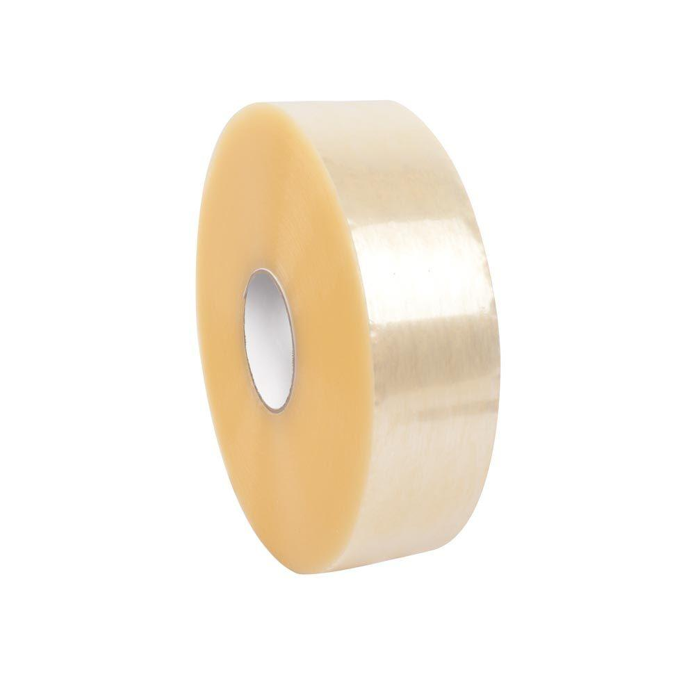 null 3 in. x 1000 yds. Clear Economy Machine Length Hot Melt Tape
