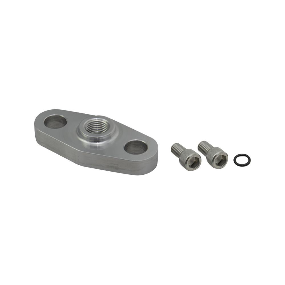 Vibrant Performance Aluminum Turbo Oil Inlet Flange w/ -4AN Male for  Garrett GT6041
