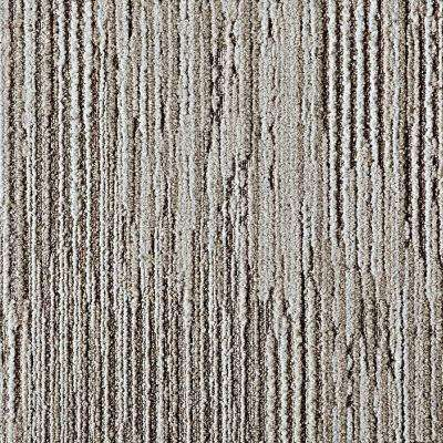 Fully Barked Oyster 19.7 in. x 19.7 in. Carpet Tile (6 Tiles/Case)