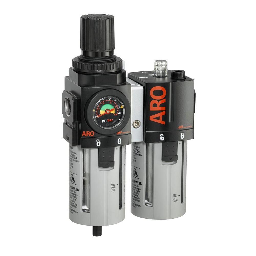 Ingersoll Rand 2000-Series 1/2 in. F/R+L Combination Unit Port
