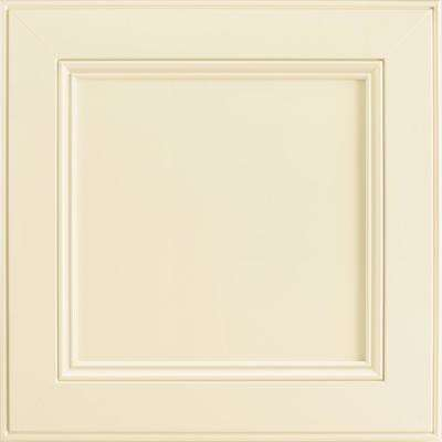 14-9/16 x 14-1/2 in. Cabinet Door Sample in MacArthur Painted Silk