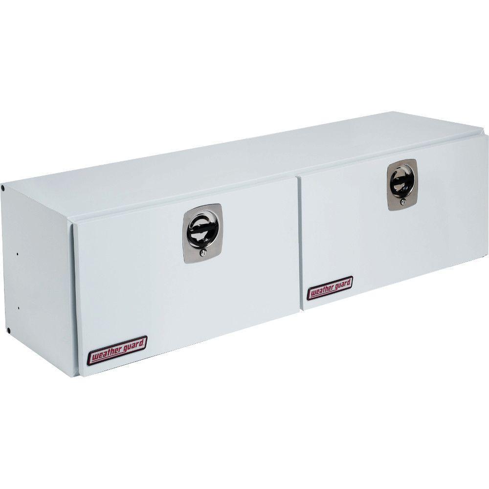 64.25 in. Steel Super-Side Box in Brite White