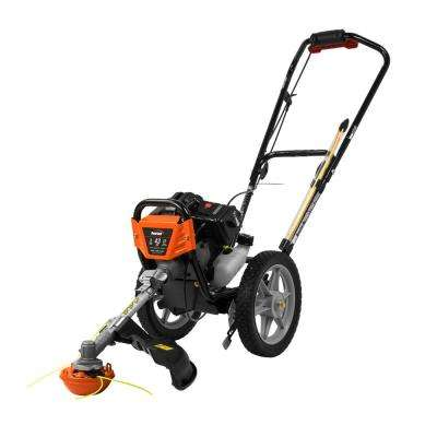 17 in. 43cc Gas Multi-Function Wheeled String Trimmer