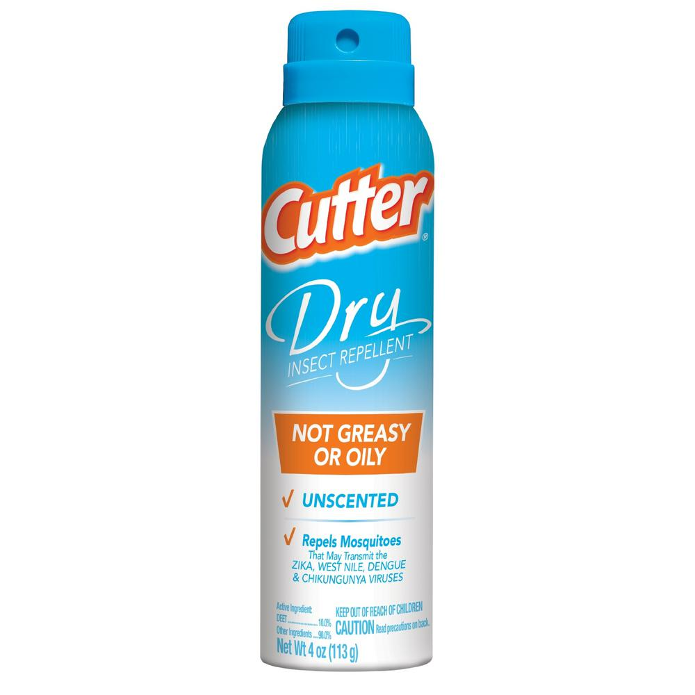 Cutter 4 oz. Dry Insect Repellent Aerosol Spray