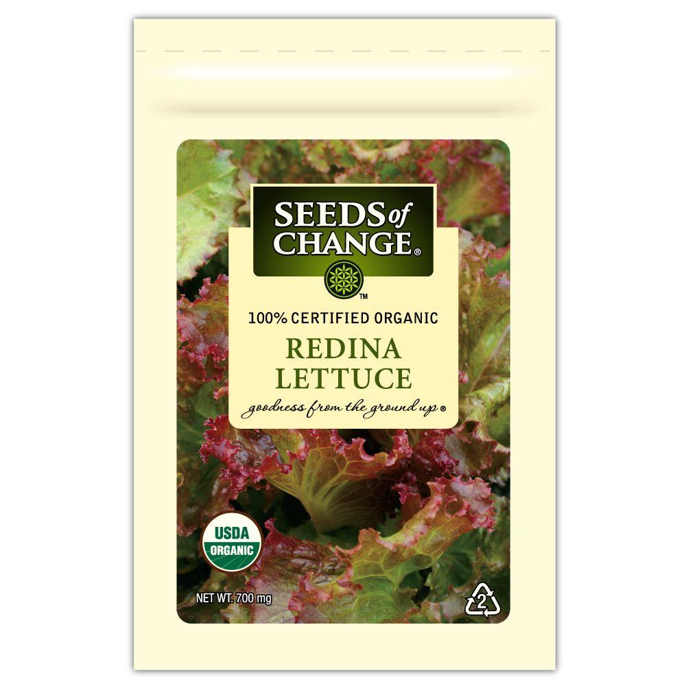 Seeds of Change Lettuce Redina (1-Pack)
