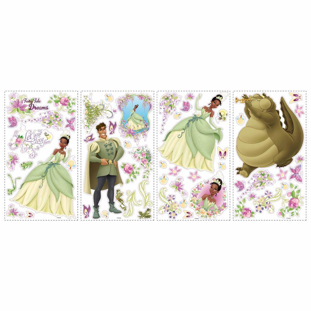 RoomMates Princess and Frog Peel and Stick Wall Decals-DISCONTINUED