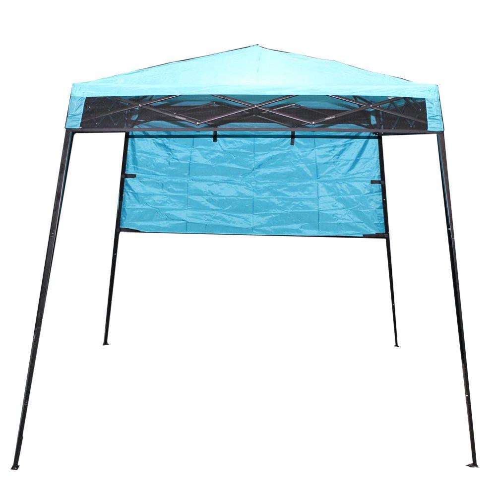 King Canopy CarryPak 8 ft. x 8 ft. Instant Canopy in Blue-DISCONTINUED
