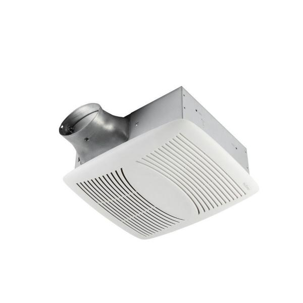 EZ Fit 80 CFM Ceiling Bathroom Exhaust Fan, ENERGY STAR*