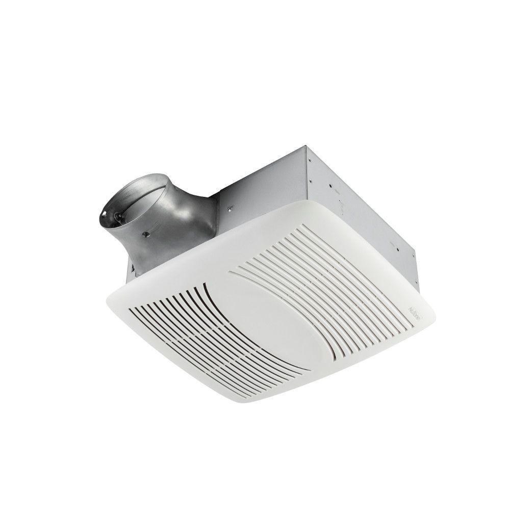 Broan Nutone Ez Fit 80 Cfm Ceiling Bathroom Exhaust Fan Energy Star Ez80n The Home Depot