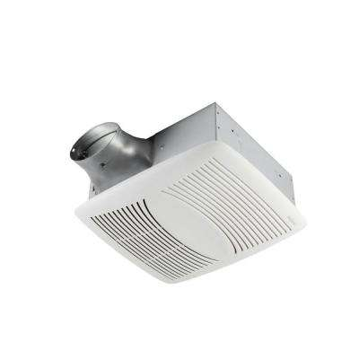 EZ Fit 80 CFM Ceiling Bathroom Exhaust Fan, ENERGY STAR*