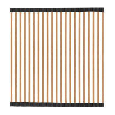 Noah Plus 16-1/2 in. Stainless Steel Removable Roll Mat in Copper