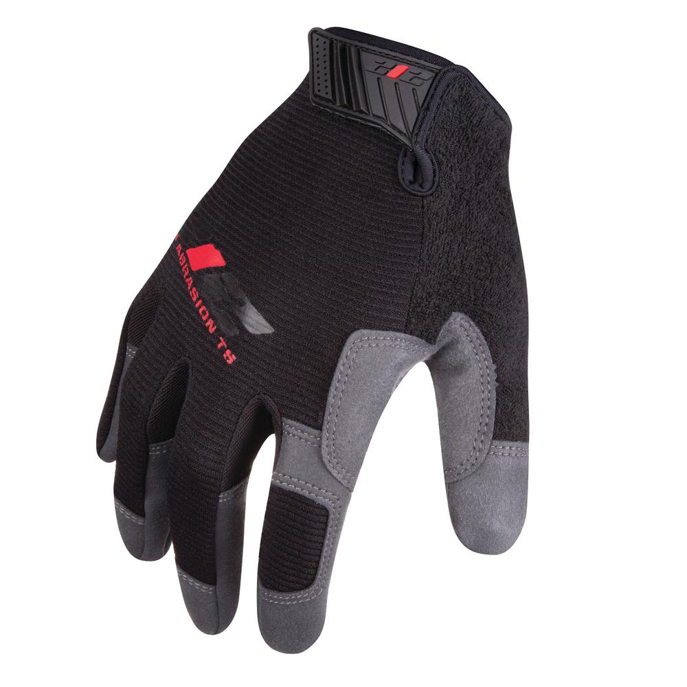 Abrasion Resistant Work Safety Gloves, Black