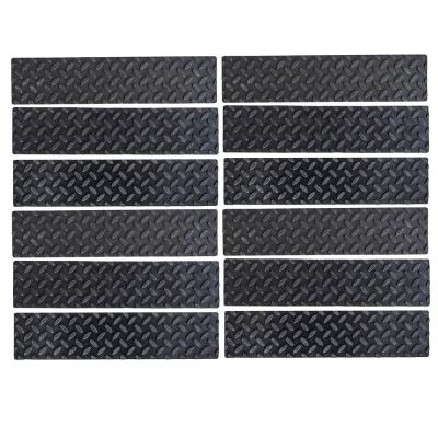 4 in. x 17 in. Adhesive Rubber Step Cover