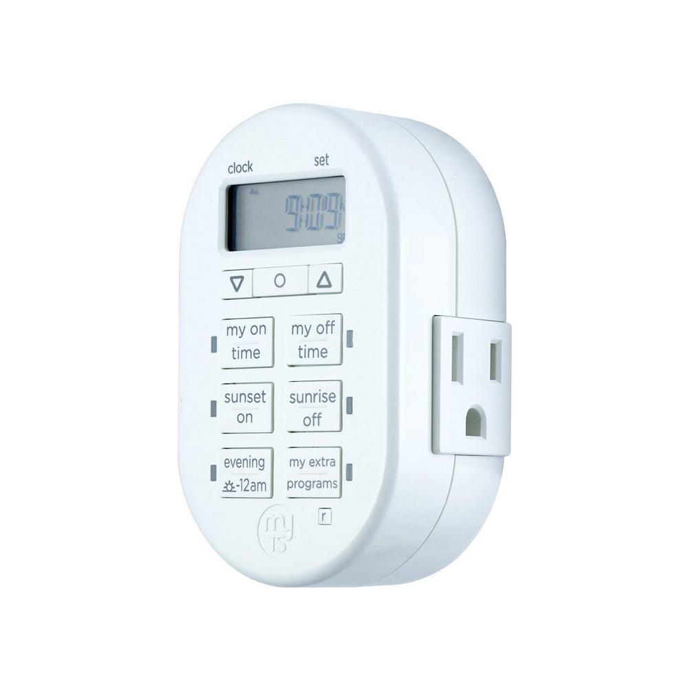 24-Hour Programmable Indoor Digital Timer