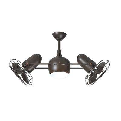 Westergate 40 in. 6-Blade Textured Bronze Ceiling Fan
