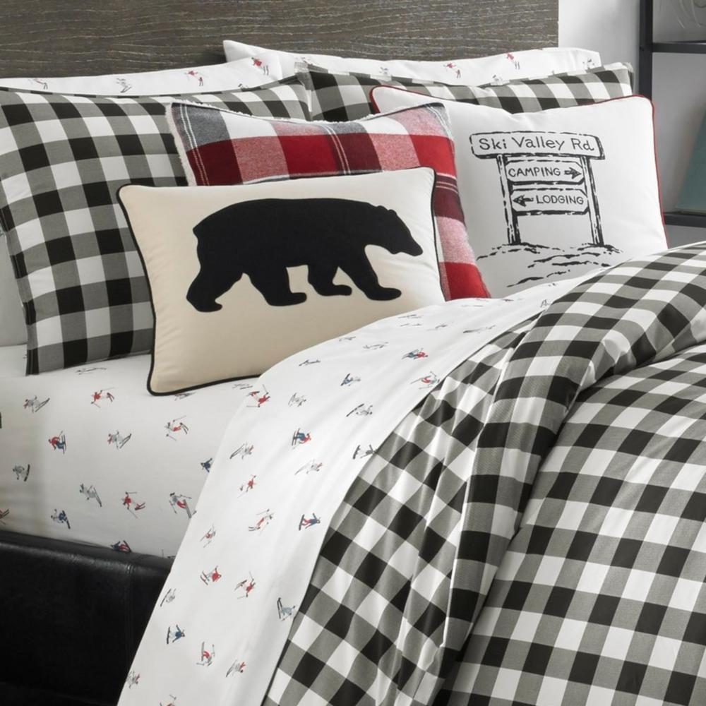Mountain Plaid Cotton Comforter Set