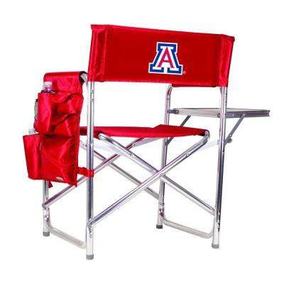 University of Arizona Red Sports Chair with Embroidered Logo