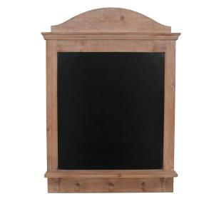 Deals on StyleWell 30 in. H x 22 in. W Chalkboard Wall Organizer