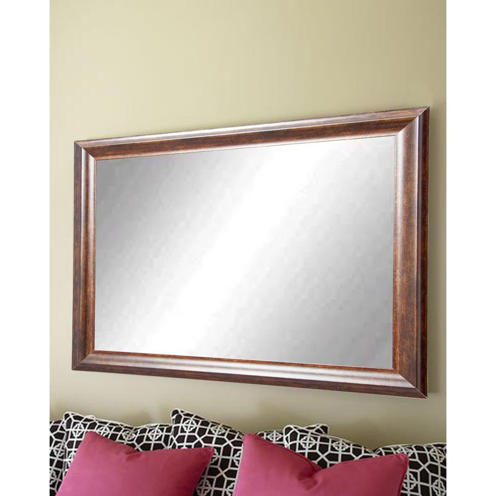 Vintage Copper Hill Wall Mirror-BM031L3 - The Home Depot
