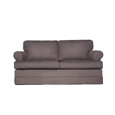 Everett 63 in. Dolphin Polyester 2-Seater Loveseat with Removable Cushions
