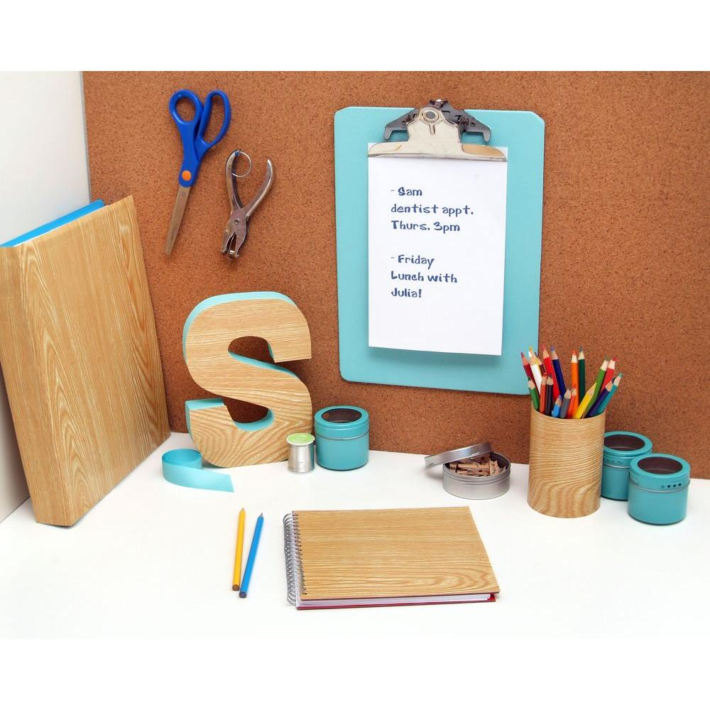 Con-Tact Creative Covering Light Pine Wood Adhesive Shelf Liner