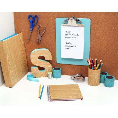 Creative Covering Light Pine Wood Adhesive Shelf Liner