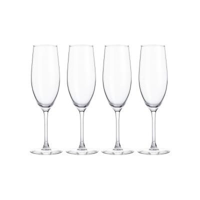 StyleWell 8 fl. oz. Glass Champagne Flutes (Set of 4)