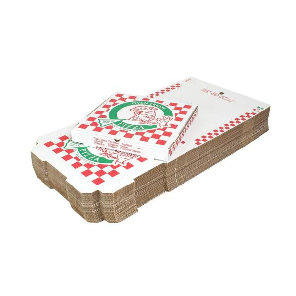 16 in. Pizza Box (16 in. L x 16 in. W x 1 7/8 in. D) (50-Pack)