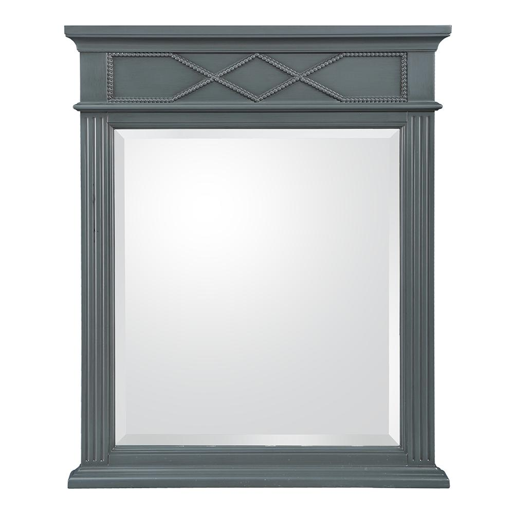 Rosamund 28 in. W x 34 in. H Wall Mirror in
