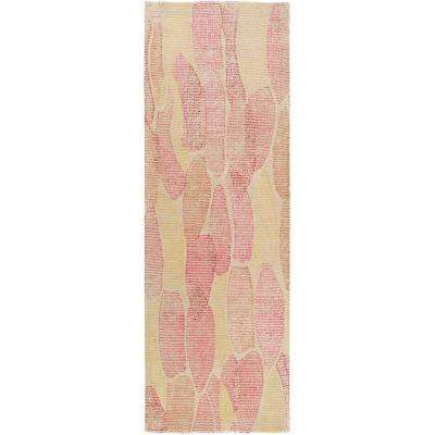Aviva Bright Pink 3 ft. x 8 ft. Runner Rug