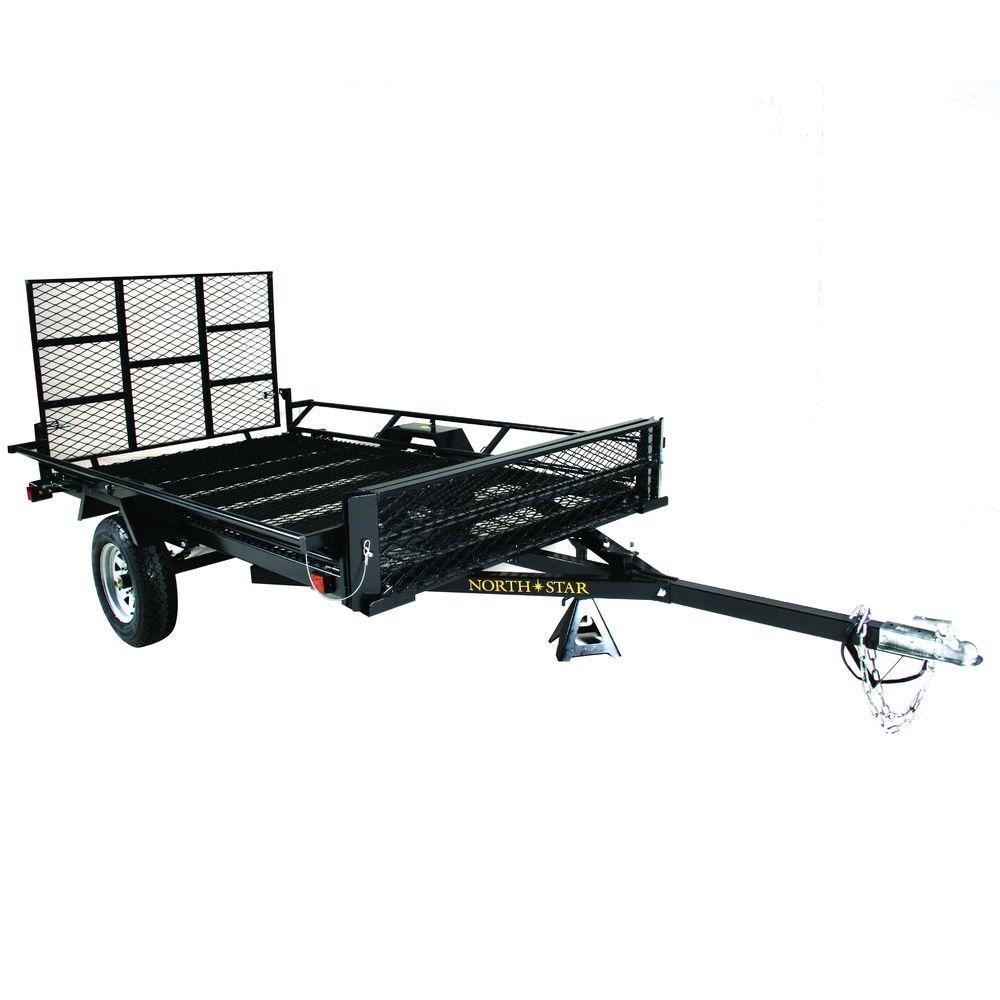 Sport Star 5 ft. x 9 ft. 2WG Trailer Kit with Rear Gate