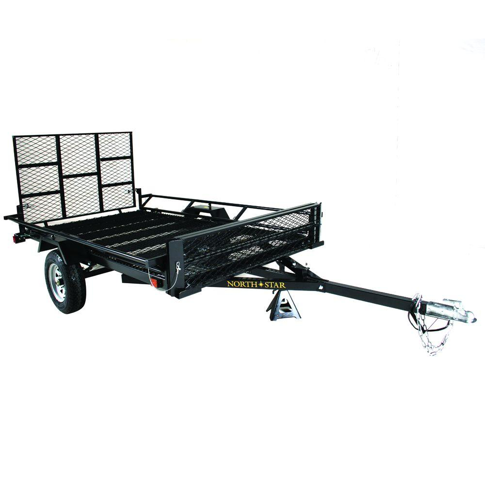 null Sport Star 5 ft. x 9 ft. 2WG Trailer Kit with Rear Gate