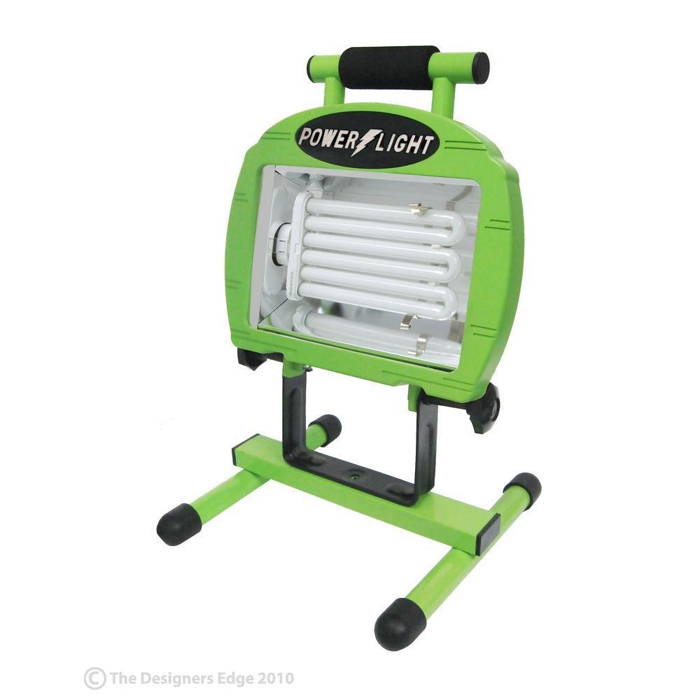 Designers Edge 1000 Watt Portable Work Light: Designers Edge 65-Watt Fluorescent Worklight-L2004