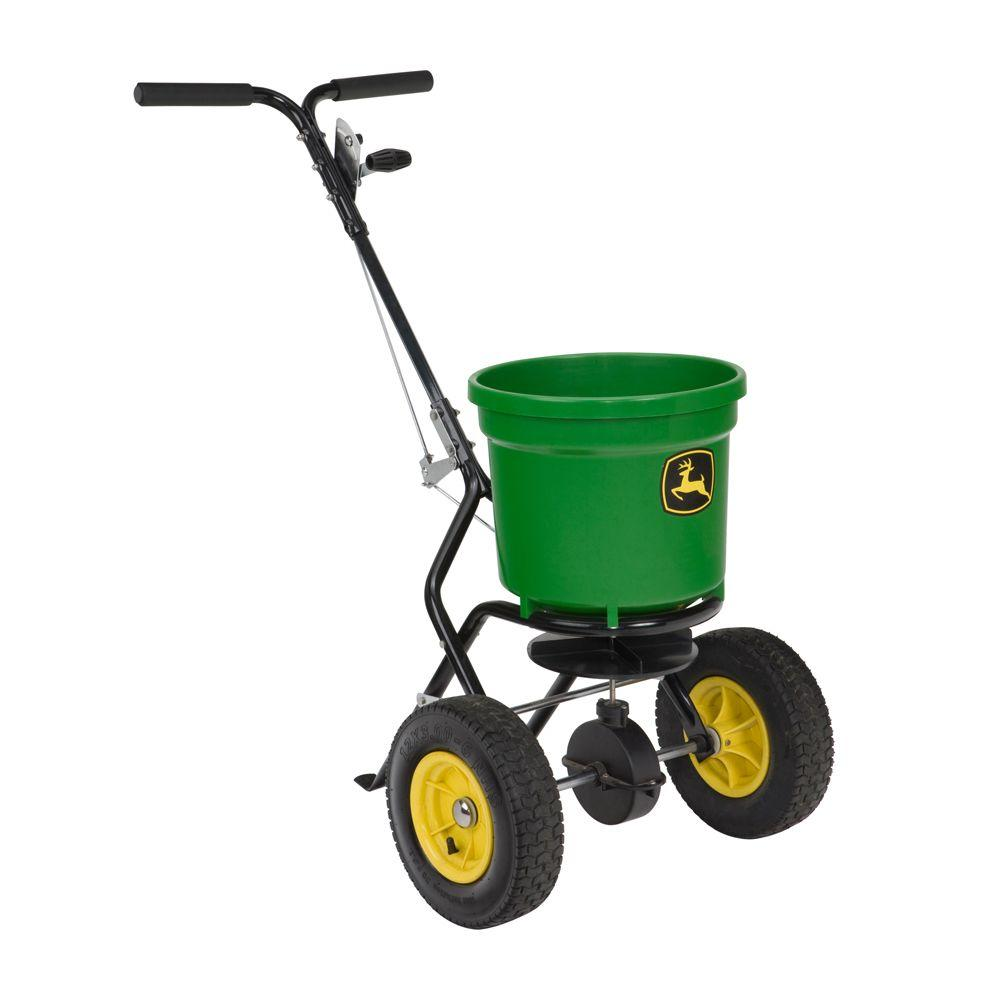 John Deere 50 lb. Push Broadcast Spreader