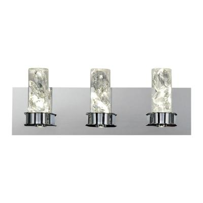York Collection 23-Watt Crystal Integrated LED Bath Light