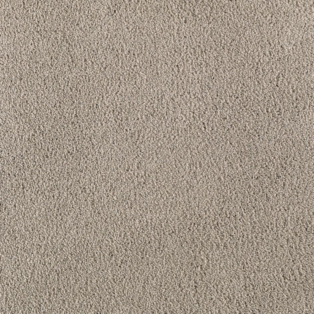 SoftSpring Cashmere II - Color Ocean Mist Texture 12 ft. Carpet