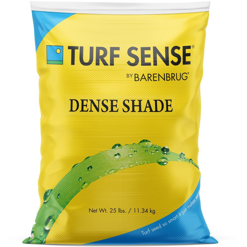 25 lbs. 5,000 sq.ft. Turf Sense Dense Shade Mix Grass Seed