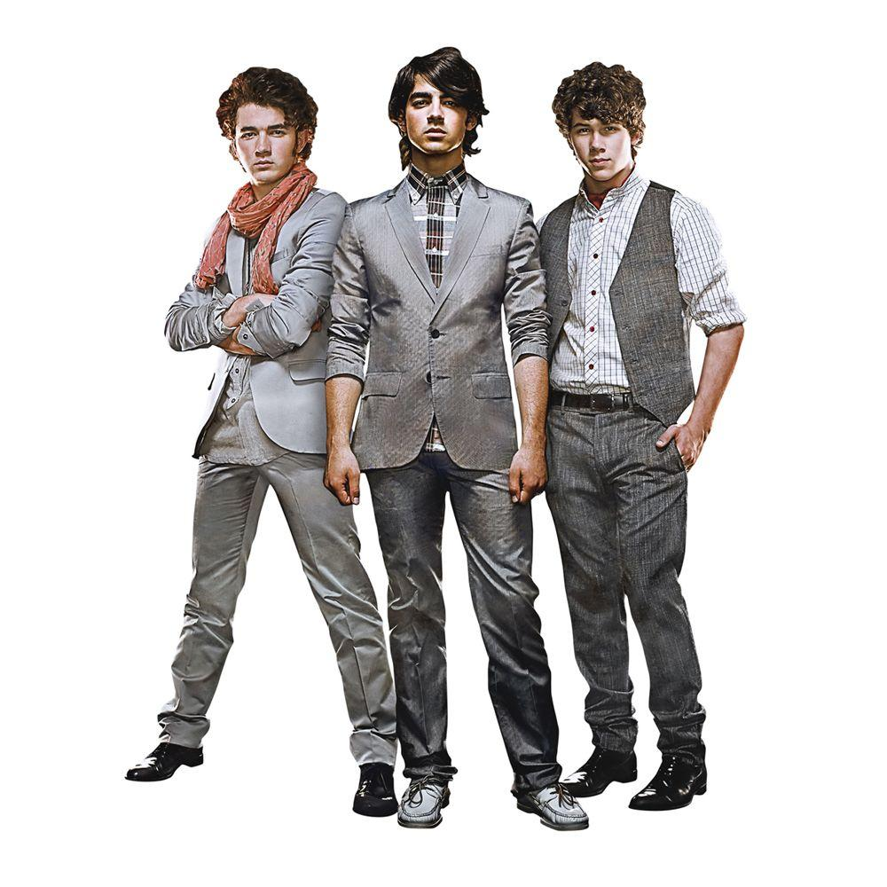 Fathead The Jonas Brothers Wall Decals (6-Pack)
