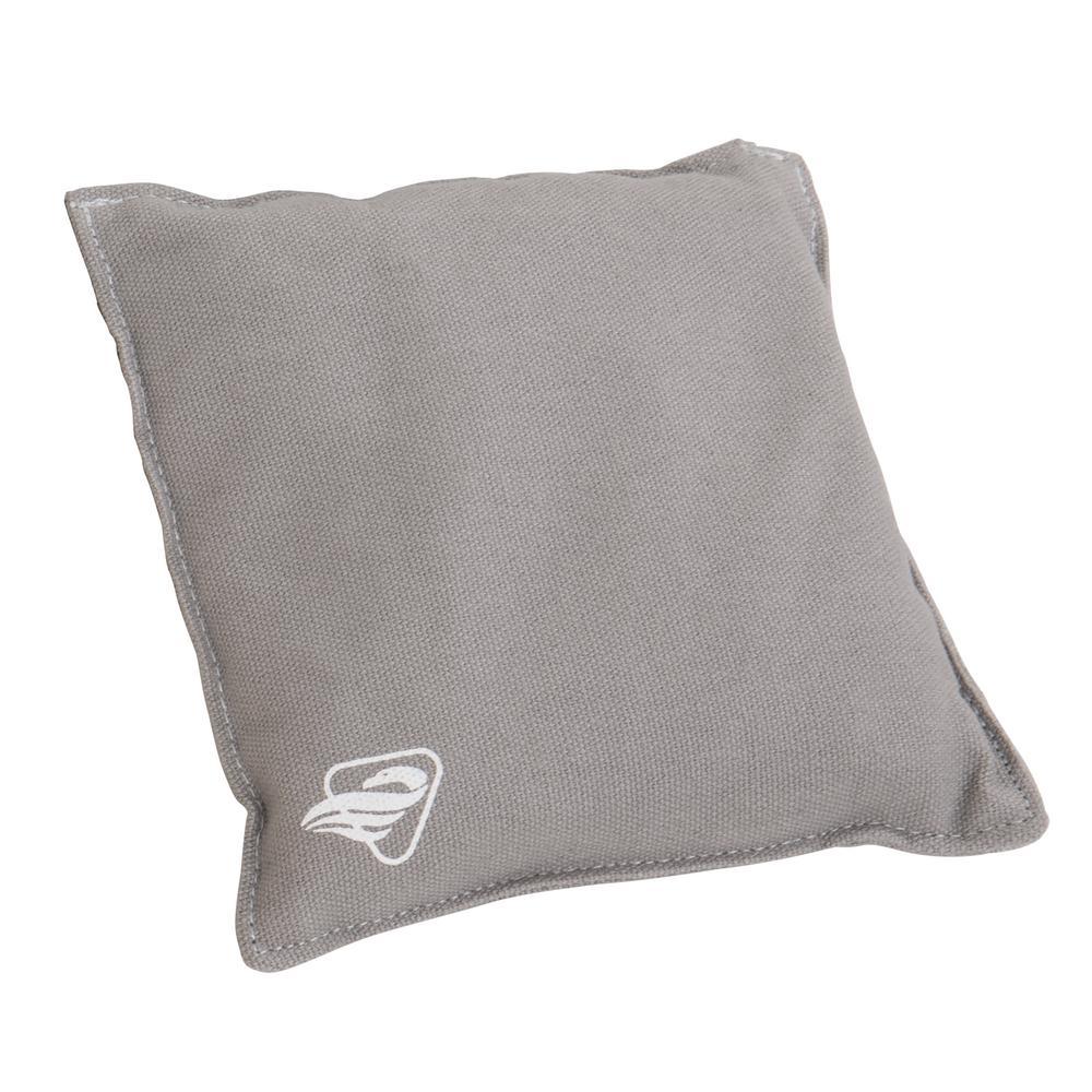 Triumph Sports Usa Grey Canvas Duck Cloth Bean Bag Set