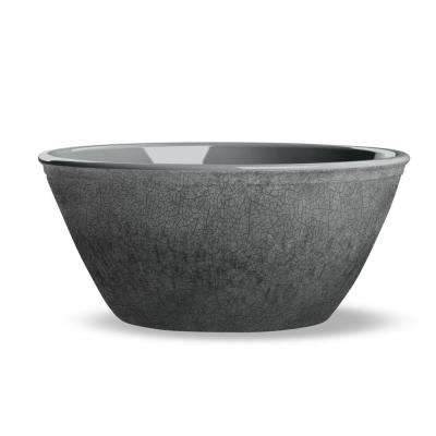 Potters Reactive Glaze Bowl Grey (Set of 6)