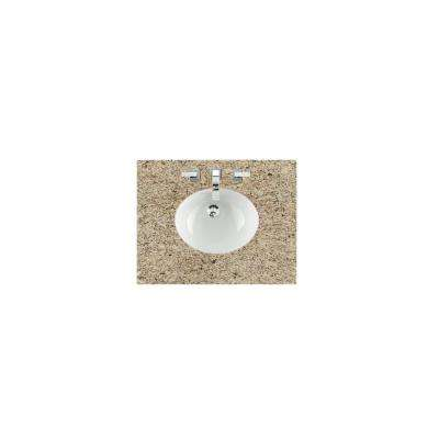 30 in. W Granite Single Basin Vanity Top in Santa Cecilia