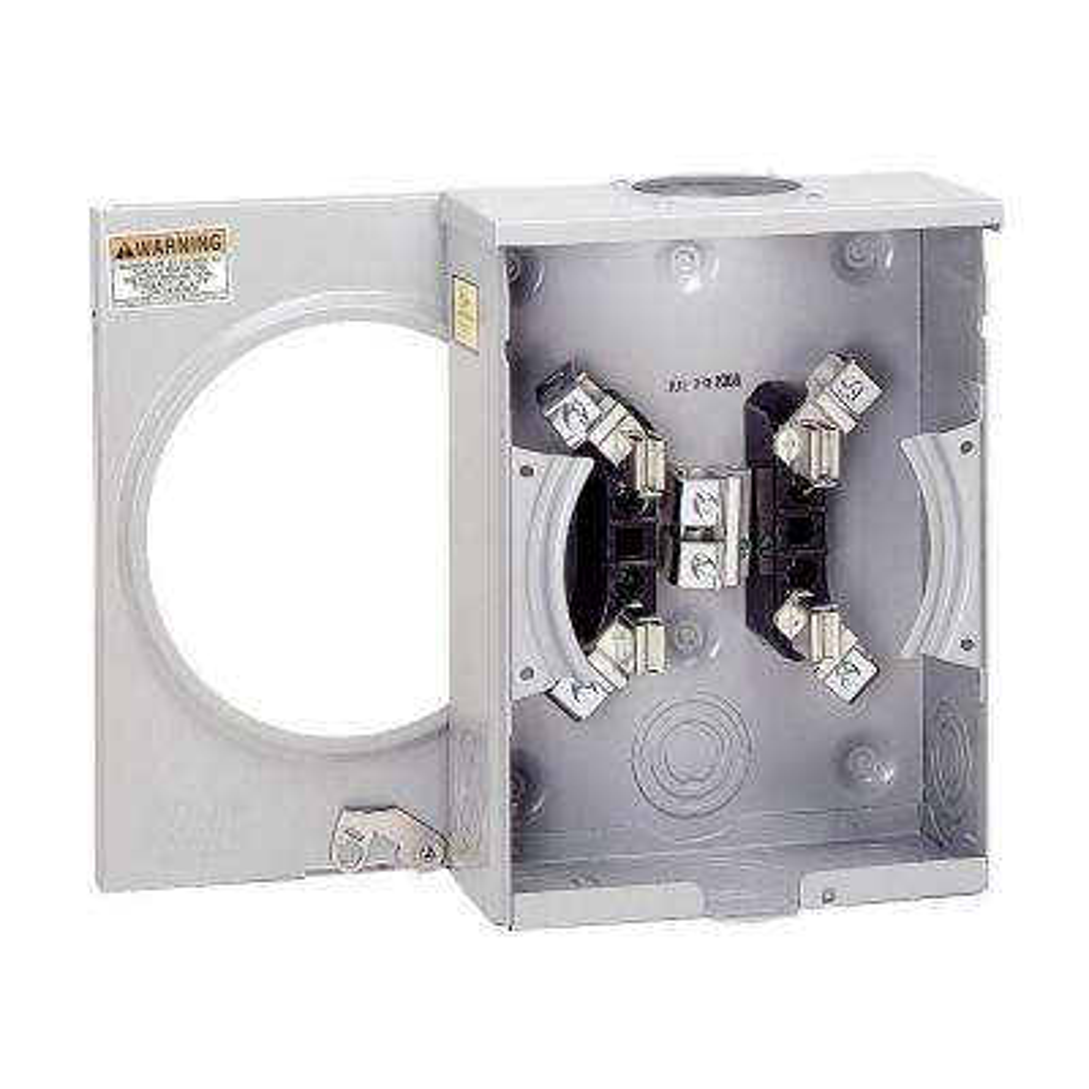 125 Amp Ringless Overhead/Underground Meter Socket