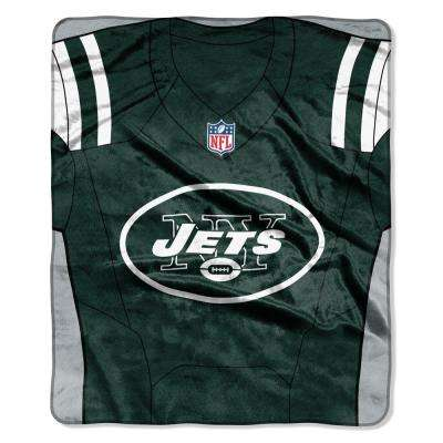 Jets Jersey Raschel Throw